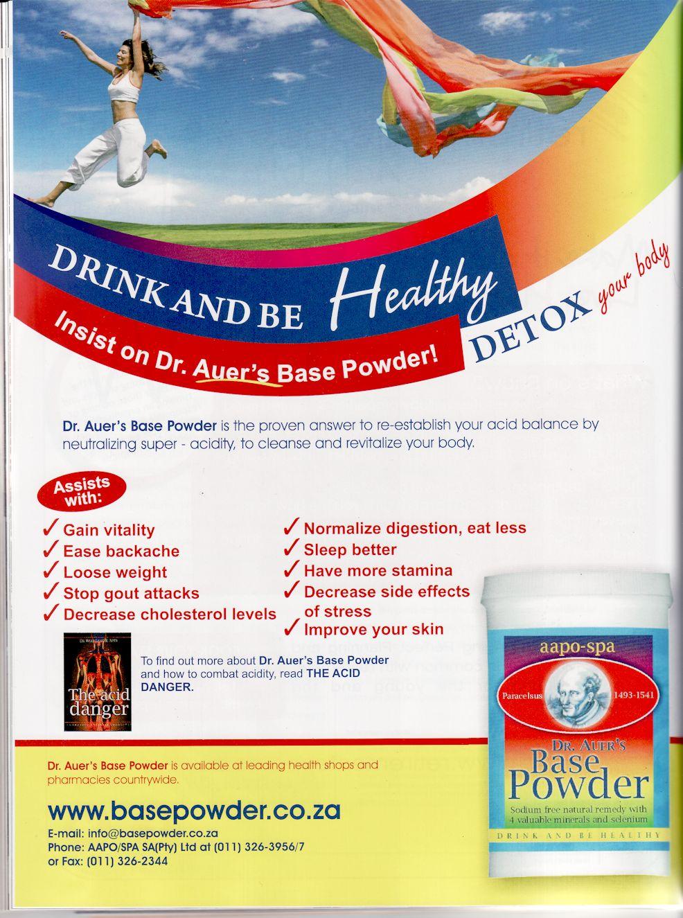 Dr Auers HealthIntelligence Jul-Aug 2013
